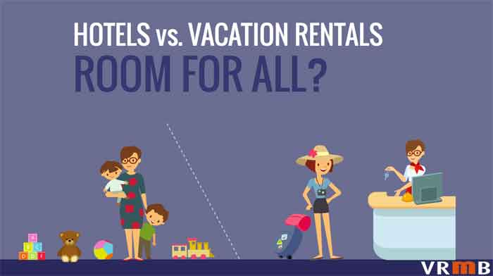 hotels vs vacation rentals room for all