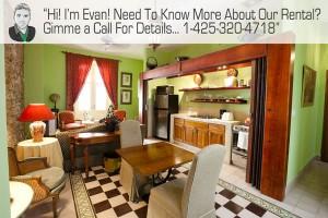 vacation rental listing