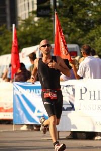 Me actually finishing the race!!!