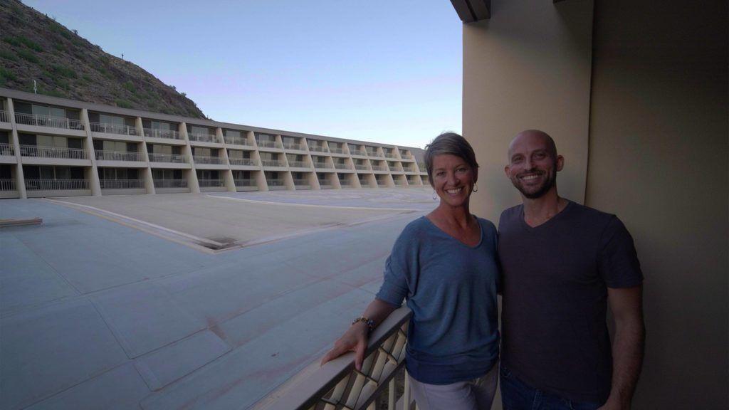 Sara Bradford and Matt Landau